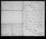Letter from Julia M. Moores to [John] Strentzel, 1886 Dec 30.