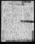 Letter from M.W. Harrington to John Muir, 1871 Oct 16.