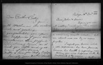 Letter from Mother [Ann Gilrye Muir] to John Muir & Louie [Strentzel Muir], 1889 Dec 13.