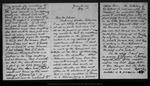 Letter from Geo[rge] G. Mackenzie to [Robert Underwood] Johnson, [1890] Aug 3.