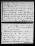 Letter from Mary [Muir] to Emma [Muir], 1889 Jun 17.