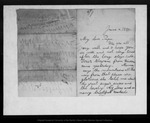 Letter from Annie Wanda Muir to [John Muir], 1889 Jun 4.