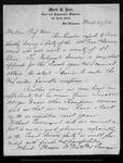 Letter from Mark B. Kerr to John Muir, 1892 Mar 24.