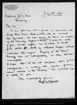 Letter from Elliott McAllister to John Muir, 1892 Jul 20.