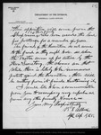 Letter from B. L. Allen [Special Agent General Land Office] to John Muir, 1892 Dec 12.