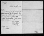Letter from J. H. Senger Wm D. Armes to John Muir, 1892 May 25.
