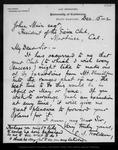 Letter from E. S. Holden to John Muir, 1892 Dec 15.