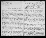 Letter from [John Muir] to Louie [Strentzel Muir], 1892 Apr 25.