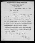 Letter from C. Bielawski to John Muir, 1892 Apr 25.
