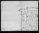 Letter from D[avid] G[ilrye] M[uir] to John Muir, 1892 May 5.