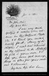 Letter from C[harles] [K[endall] Adams to John Muir,  1892 Jan 4.