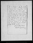 Letter from Geo[rge] G. Mackenzie to [Robert Underwood] Johnson, 1892 Oct 4.
