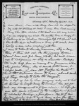 Letter from John Muir to Louie [Strentzel Muir], 1892 Apr 20.