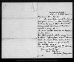 Letter from Mary M[errill] Graydon to John Muir, [1892?] Apr 18 .