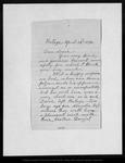Letter from [Ann Gilrye] Muir to Louie [Muir], 1892 Apr 22. by [Ann Gilrye] Muir