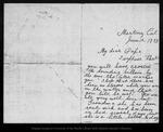 Letter from [Annie] Wanda [Muir] to [John Muir], 1893 Jun 12. by [Annie] Wanda [Muir]