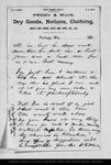 Letter from D[avid] G. Muir to John Muir, 1892 Mar 19.