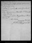Letter from John Bagnall to John Muir, 1900 Jan 13 .