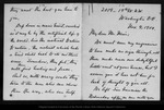 Letter from Florence M[erriam] Bailey to John Muir, 1900 Nov 4.