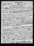 Letter from James D[avie] Butler to John Muir, 1900 Jul 9.