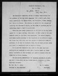 Letter from Ex. Gov. W[illia]m T. Jeter & Wm. R. Dudley to John Muir, 1900 Nov 5.