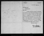 Letter from Warren Gregory to John Muir, 1900 Mar 23.