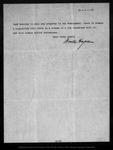 Letter from Arnold Hague to R[obert] U[nderwood] Johnson , 1900 Jan 31 .