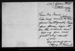 Letter from Harry P. Kuhn  to [John Muir], [ca. 1900].