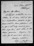 Letter from Helen S. Kaufman [?] to [John Muir], [ca. 1900].