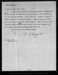 Letter from C[harles] S[prague] Sargent to John Muir, 1900 May 28.