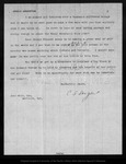 Letter from C[harles] S[prague] Sargent to John Muir, 1900 May 4.