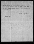 Letter from C[harles] S[prague] Sargent to John Muir, 1900 Mar 5.