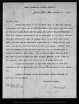 Letter from C[harles] S[prague] Sargent to John Muir, 1900 Jan 8 .