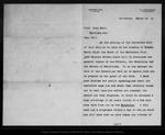 Letter from Warren Gregory to John Muir, 1900 Mar 18.