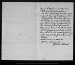 Letter from Galen Clark to John Muir, 1900 Oct 30.