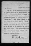 Letter from Charles M. Skinner to John Muir, 1902 Nov 14. by Charles M. Skinner