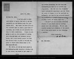 Letter from W[illiam] B[elmont] Parker to John Muir, 1902 Apr 21. by W[illiam] B[elmont] Parker