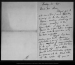Letter from Melville B. Anderson to John Muir, [1902 ?] Nov 21.