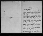 Letter from Cornelius B. Bradley to John Muir, 1902 Oct 17.