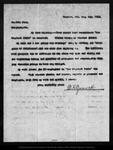 Letter from D. K. Zumwalt to John Muir, 1902 Oct 4. by D K. Zumwalt