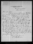 Letter from T[heodore] P. Lukens to John Muir, 1902 Feb 19. by T[heodore] P. Lukens
