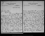 Letter from Edmond L. Brown to John Muir, 1902 Oct 28.