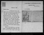 Letter from W[illiam] B[elmont] Parker to John Muir, 1902 Jan 9. by W[illiam] B[elmont] Parker
