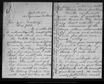 Letter from Emily Wilson to John Muir, 1902 Apr 5. by Emily Wilson