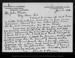 Letter from Charles H. Shinn to John Muir, 1902 Jan 13. by Charles H. Shinn