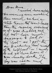 Letter from [Annie] Wanda [Muir] to [Louie S. Muir], [ca.1902].