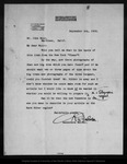 Letter from R[obert] U[nderwood] Johnson to John Muir, 1902 Sep 8. by R[obert] U[nderwood] Johnson