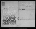 Letter from W[illiam] B[elmont] Parker to John Muir, 1902 Nov 7. by W[illiam] B[elmont] Parker