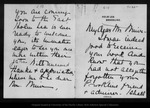 Letter from Mary Sargent to John Muir, 1902 Jul 26. by Mary Sargent