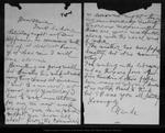 Letter from Wanda [Muir] to [Louie Strentzel Muir], [ca.1902]. by Wanda [Muir]